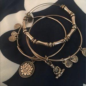 Alex and Ani bracelet bundle set